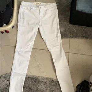 White hollister jeans!